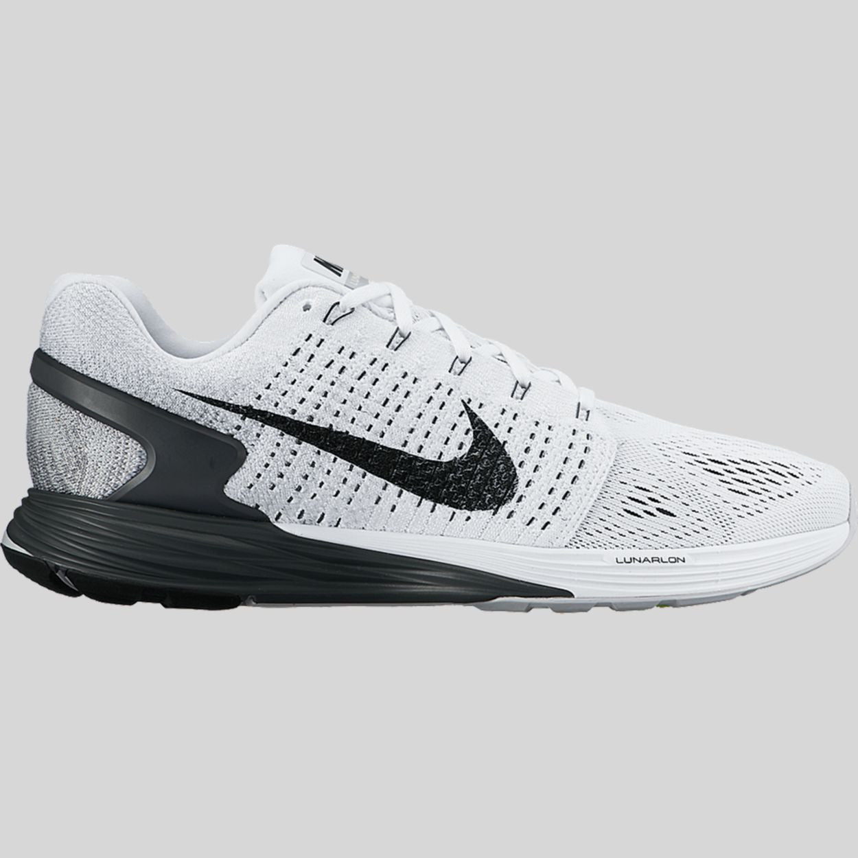 Nike Lunarglide 7 White Anthracite Cool Grey (747355-100)