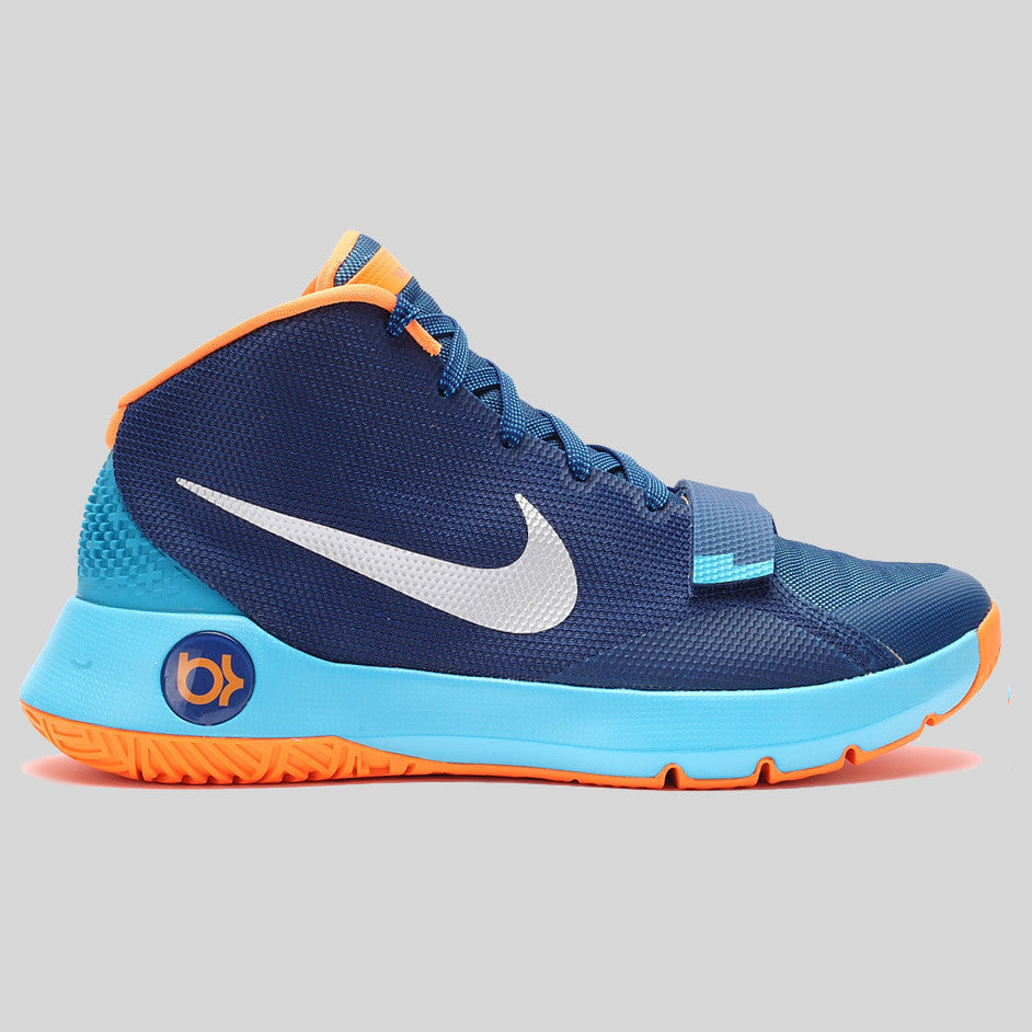 Nike KD Trey III EP Insign Blue Metallic Silver Lagoon Blue