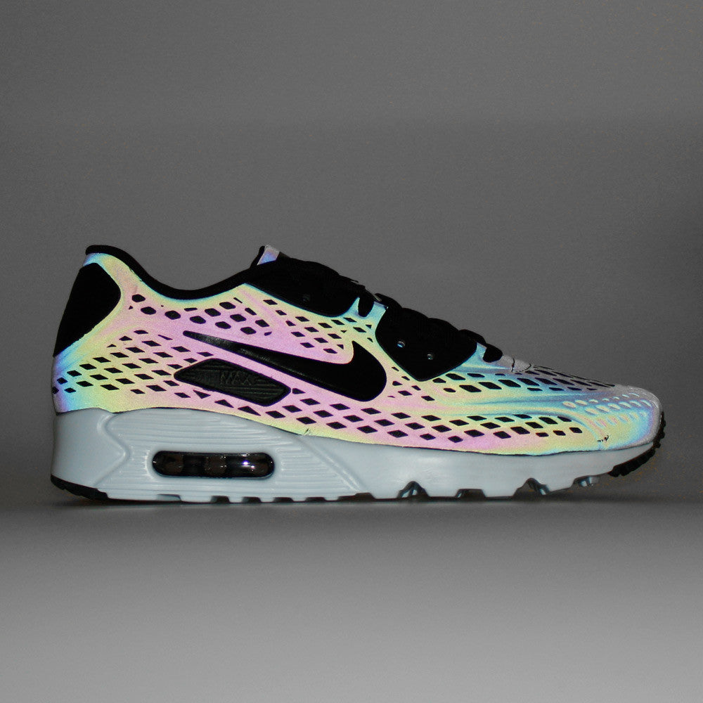 nike iridescent grey air max 90 ultra moire qsen