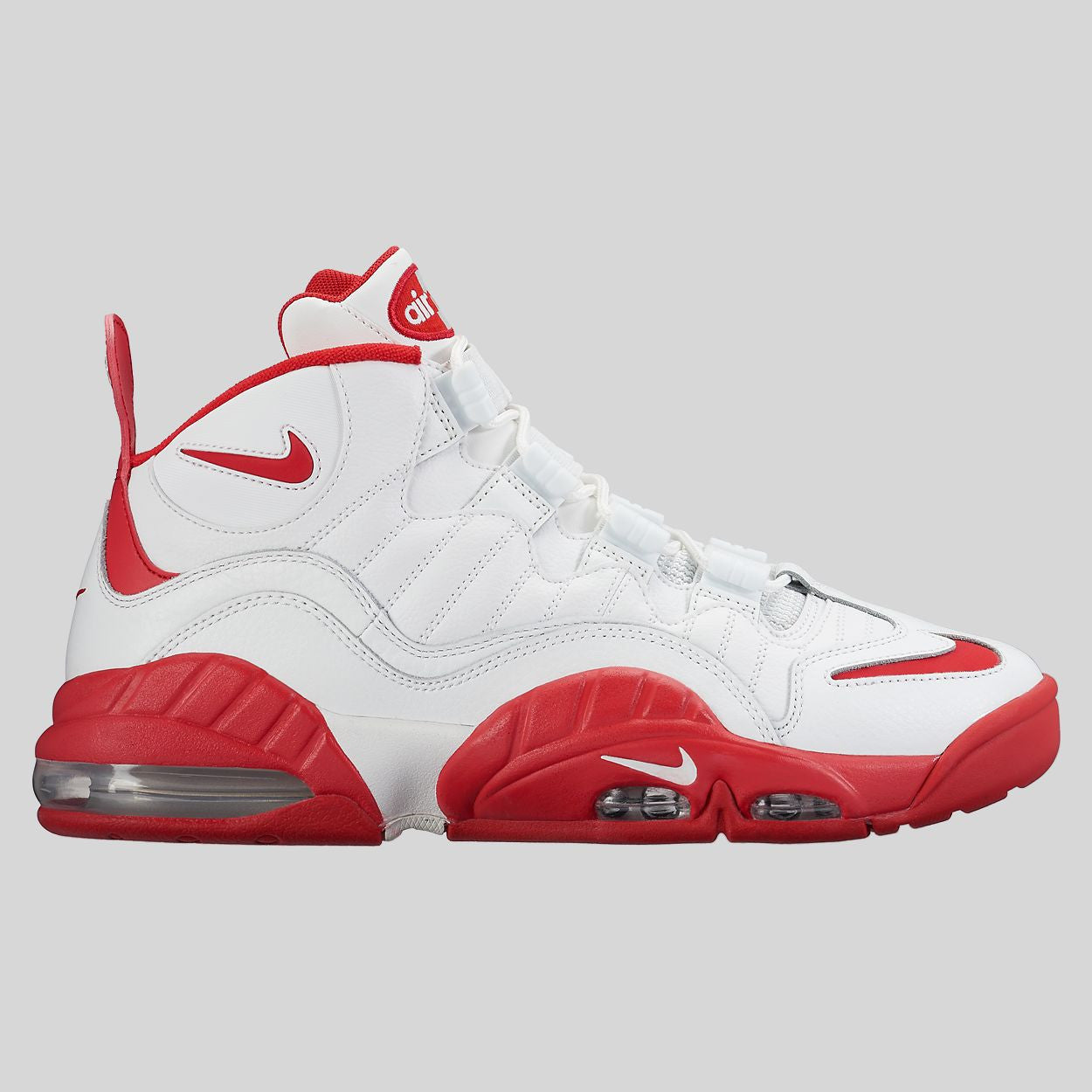 Nike Air Max Sensation Summit White / University Red