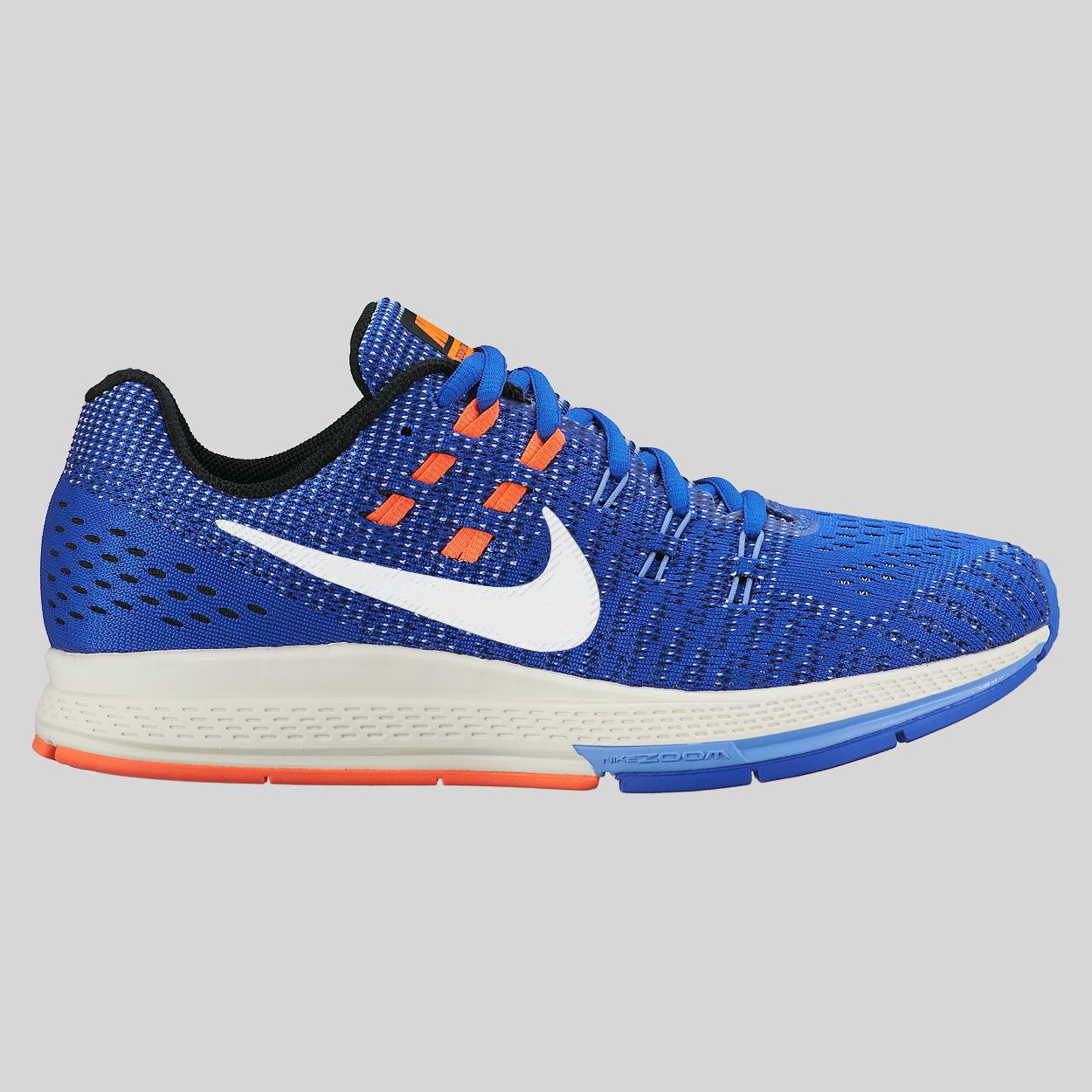 Nike Wmns Air Zoom Structure 19 Racer Blue Sail Hyper Orange (806584-408)