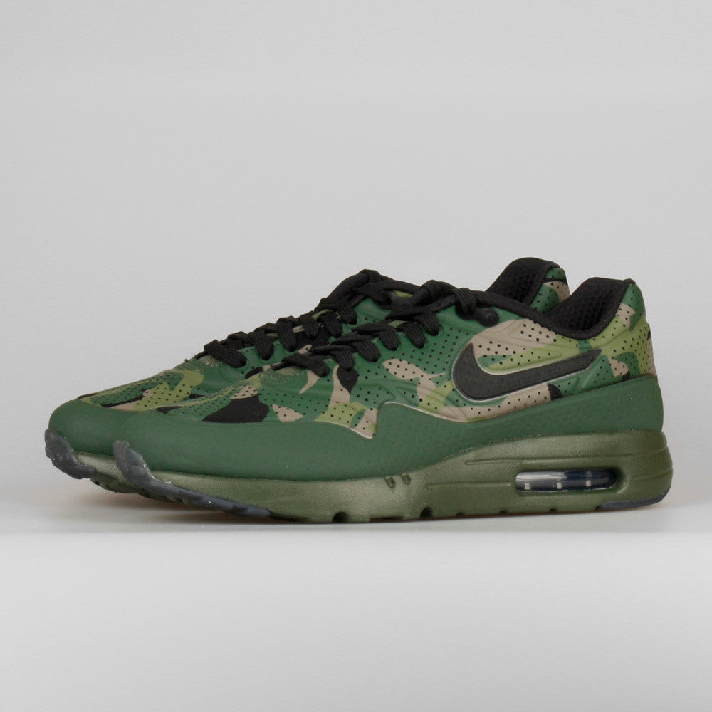 brand new ebc42 463f7 Nike Air Max 1 Ultra Moire Print Carbon Green Black Camo