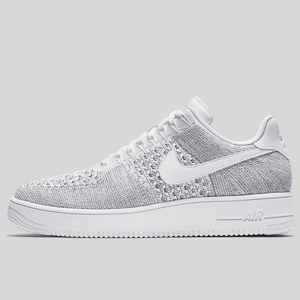 online store e5c1a cfcc8 Nike AF1 Ultra Flyknit Low Cool Grey White (817419-006)