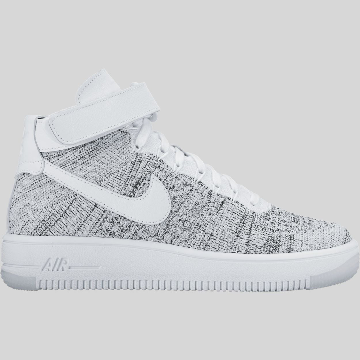 lowest price fa222 1e382 Nike Wmns AF1 Flyknit White Black