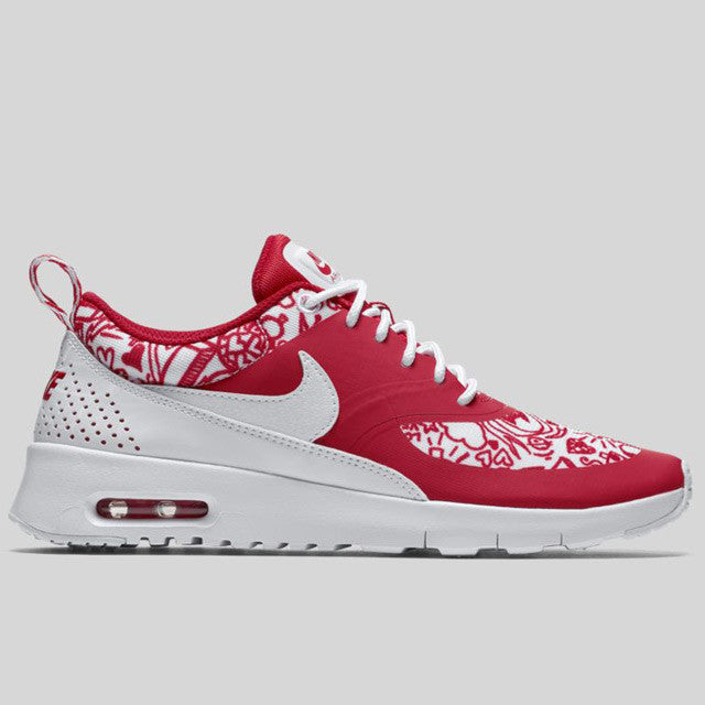 Air Max Thea Rouge Et Blanc