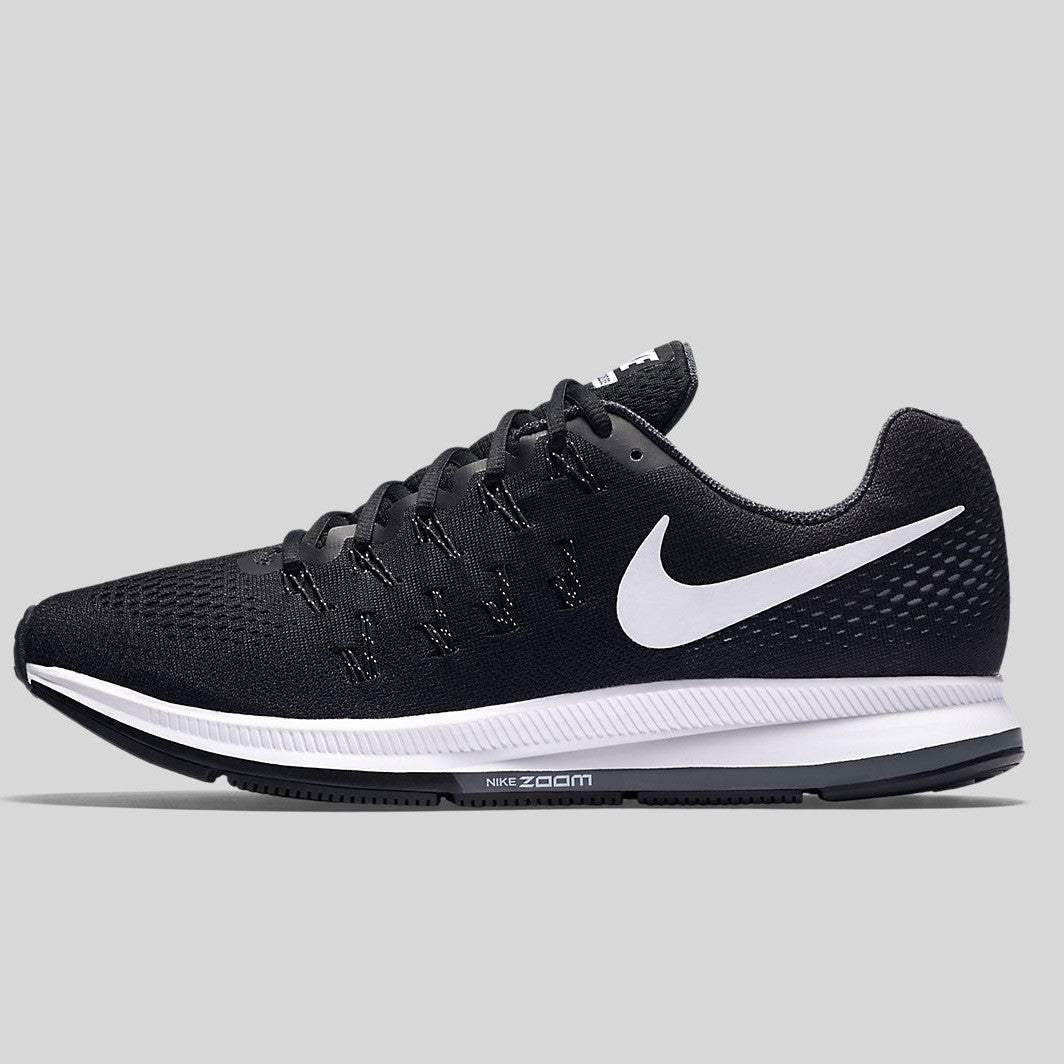 quality design 73679 8845d Nike Air Zoom Pegasus 33 Black White Anthracite Cool Grey (831352-001)