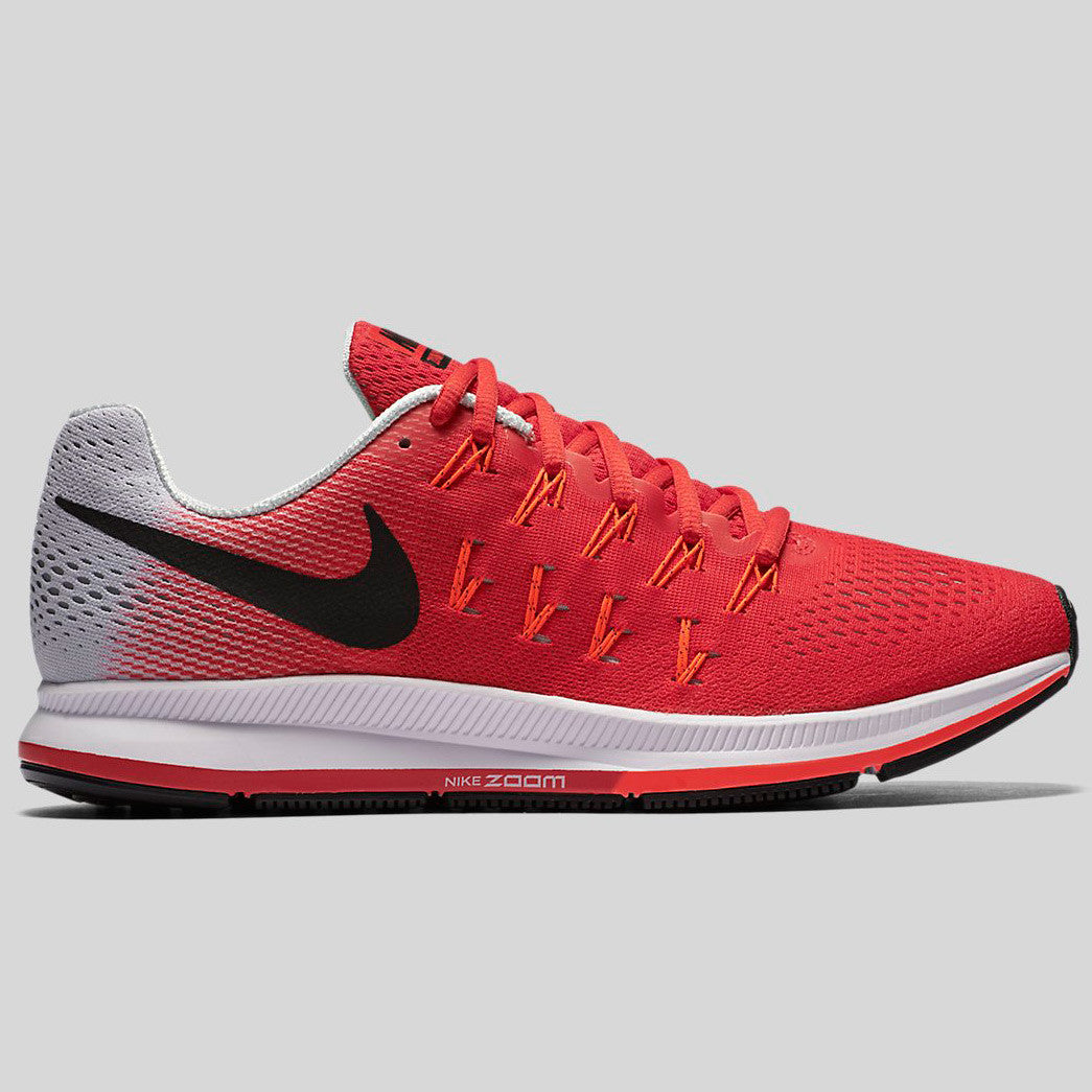 89d6c838026a ... Running Shoes Red White Black NEW Nike Air Zoom Pegasus 33 Action Red  Black Pure Platinum (831352-600) ...