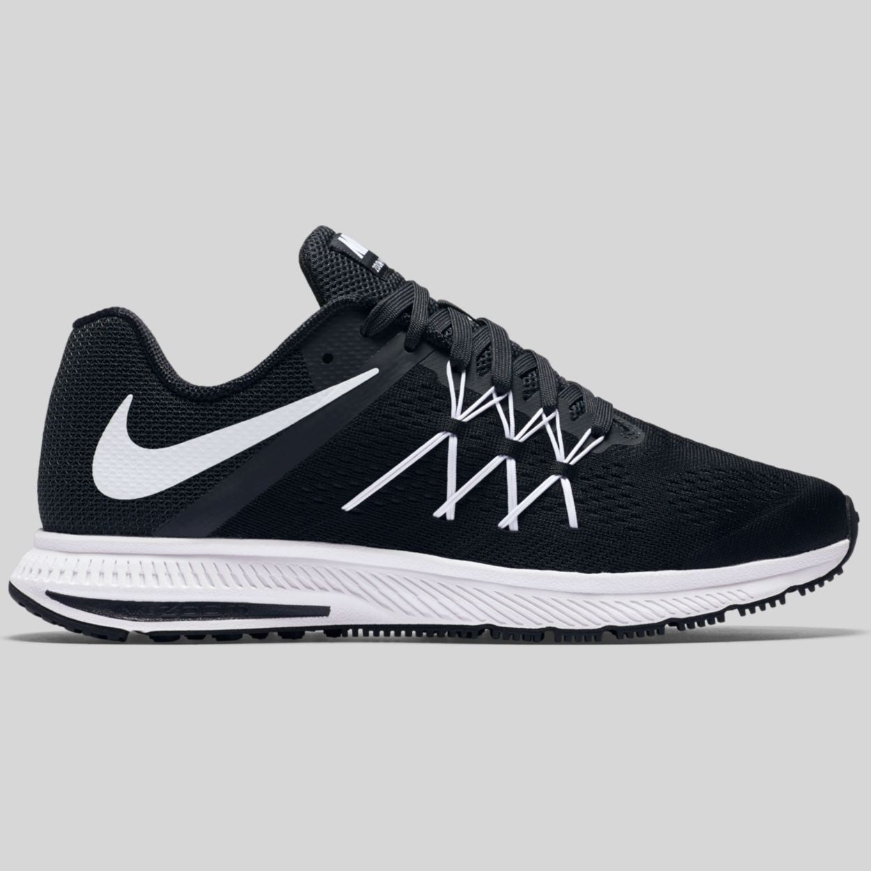 Nike Zoom Winflo 3 Black White Anthracite (831561-001)