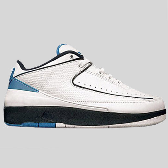 quality design a72a5 fc1e6 Nike Air Jordan 2 Retro Low White University Blue (832819-107)   KIX-FILES