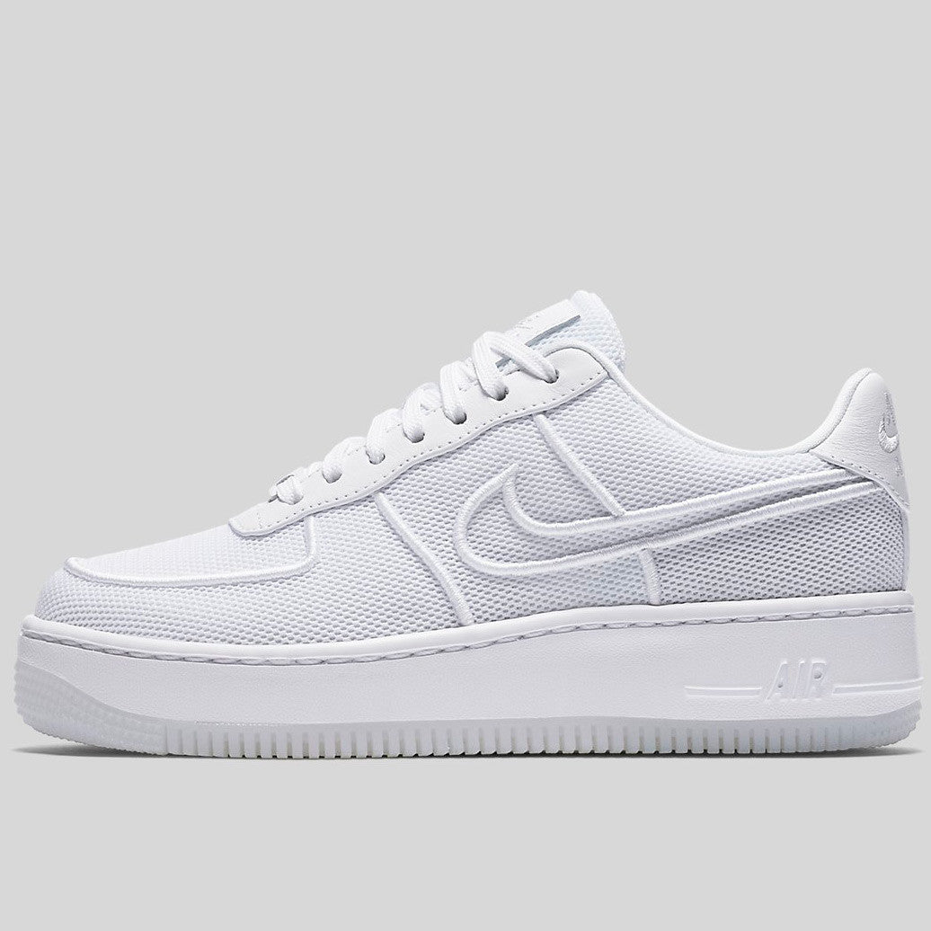 premium selection 0579a 43c17 Nike Wmns AF1 Low Upstep BR White Glacier Blue (833123-101)