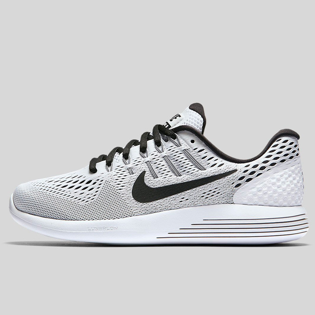 new concept 32972 be167 Nike Wmns Lunarglide 8 White Black (843726-101)