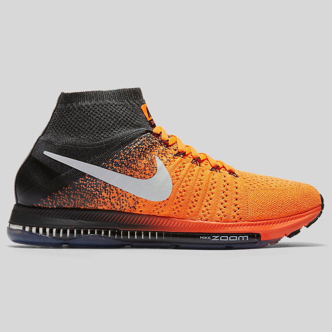Nike Zoom All Out Flyknit Total Orange White Anthracite (844134-800)