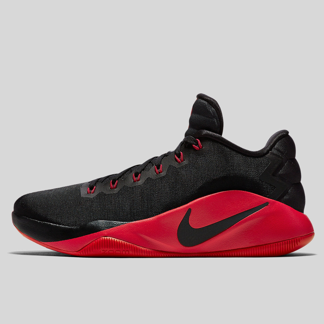 sports shoes 8ed61 fb10a Nike Hyperdunk 2016 Low EP Black University Red Dark Grey (844364-060)