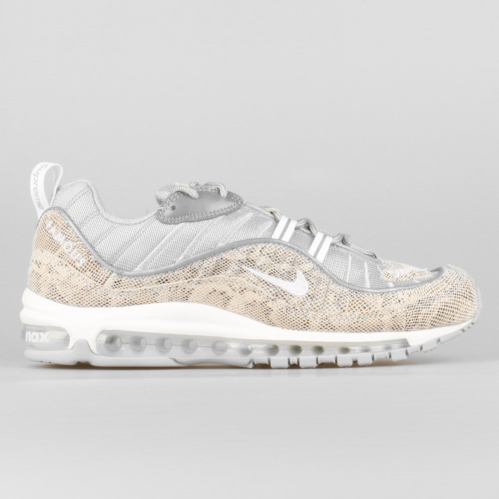huge selection of 432b2 91c68 Supreme x Nike Air Max 98 Snakeskin
