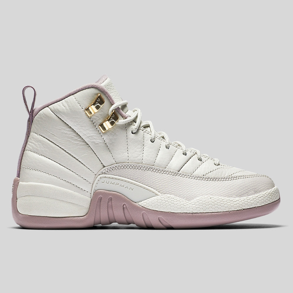 001025f018f8 Nike Air Jordan 12 Retro Premium HC GG (GS) Heiress Plum Fog (845028-025)