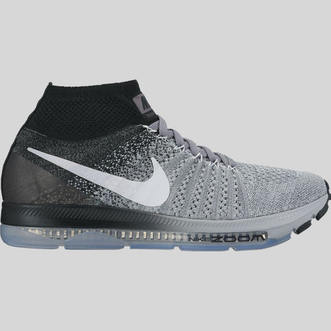 new product e5ebb 45bb4 Nike Wmns Zoom All Out Flyknit Wolf Grey White Black Pure Platinum  (845361-003