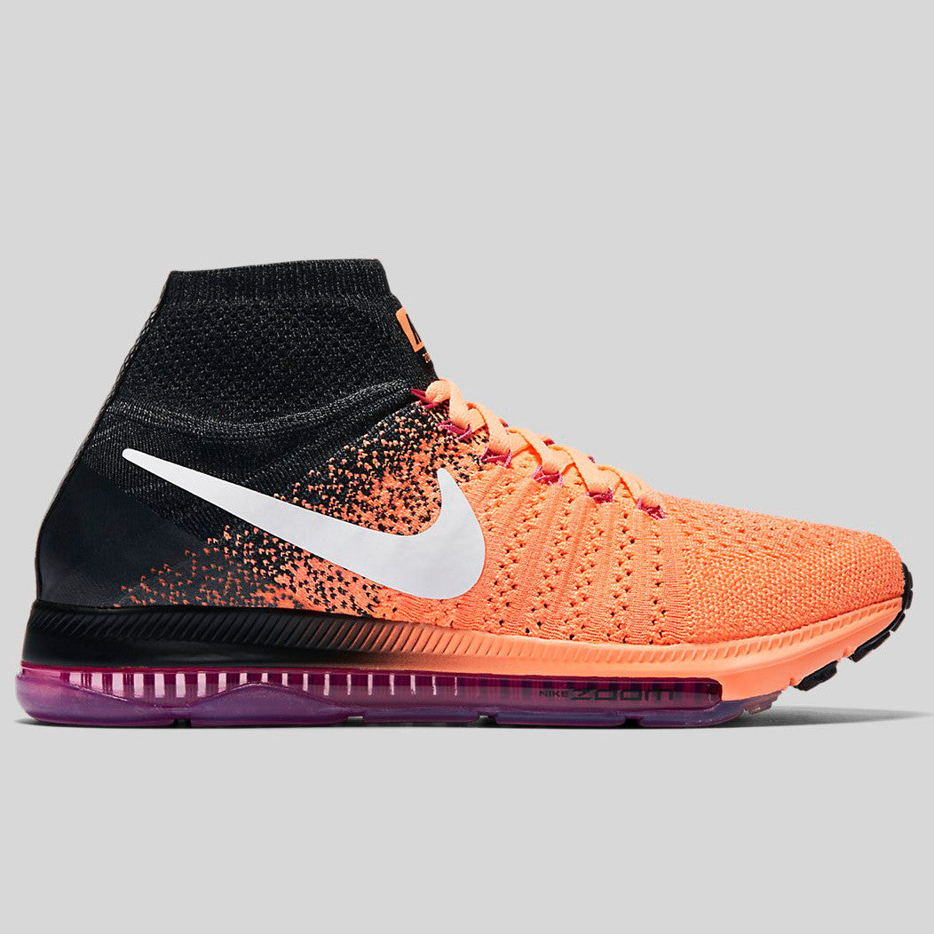 Nike Wmns Zoom All Out Flyknit Peach Cream White Pink Fire (845361-800)