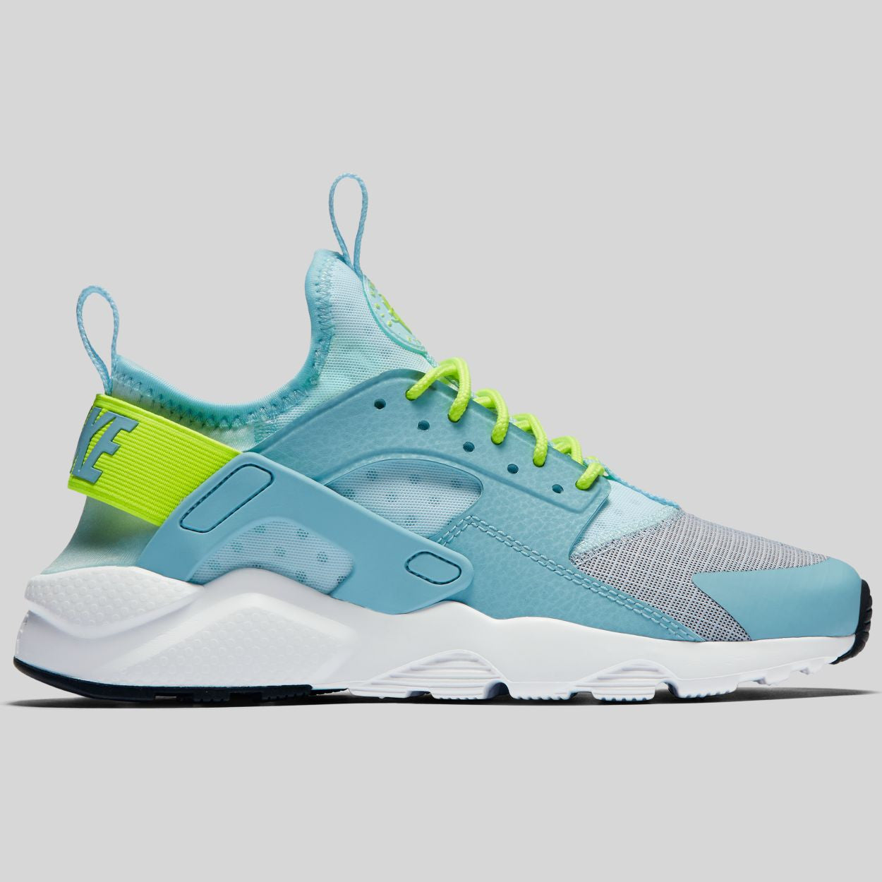 Nike Air Huarache Run Ultra (GS) Glacier Blue Volt Mica Blue White (847568 ceaa1832527