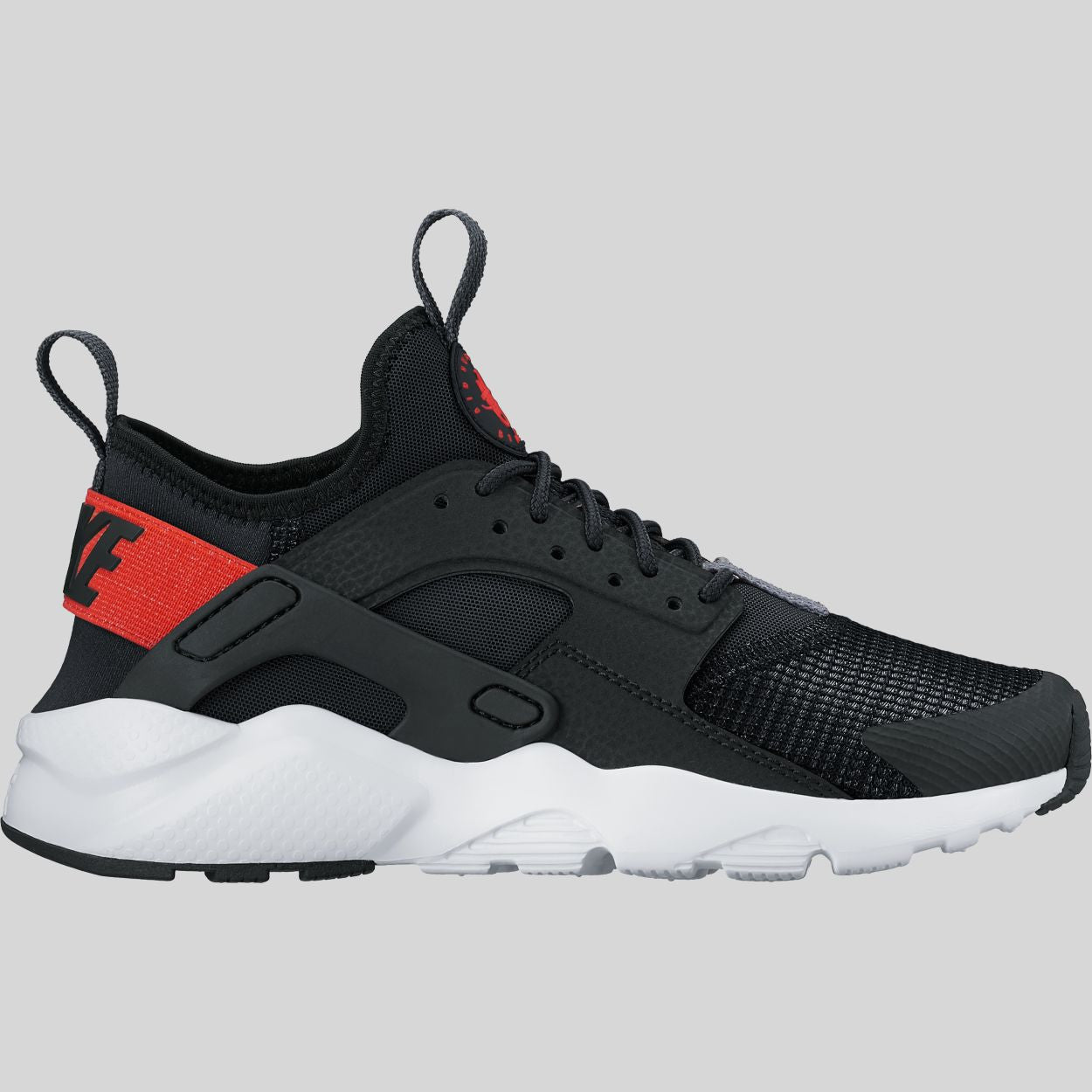 2746322e9abb Nike Air Huarache Run Ultra (GS) Black Max Orange White (847569-009 ...