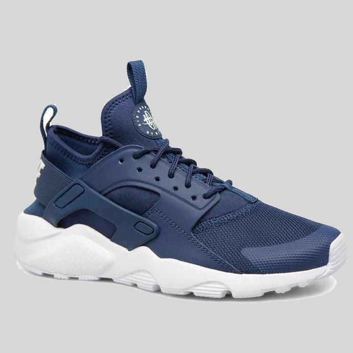 7d37332a2d91 Nike AIR HUARACHE RUN ULTRA GS Navy White (847569-406)
