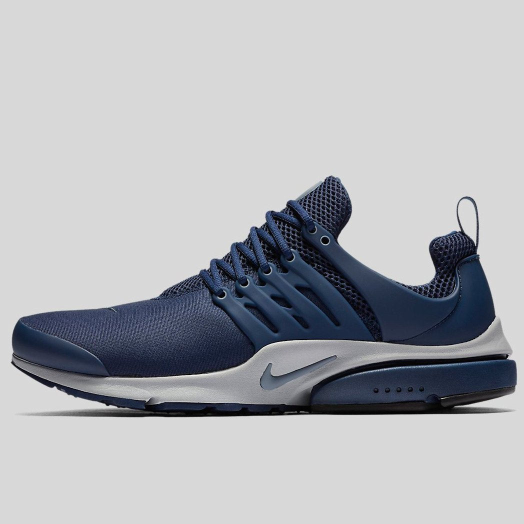 detailed look 3e4c0 3bc36 Nike Air Presto Essential Midnight Navy Armory Blue-Wolf Grey (848187-405)