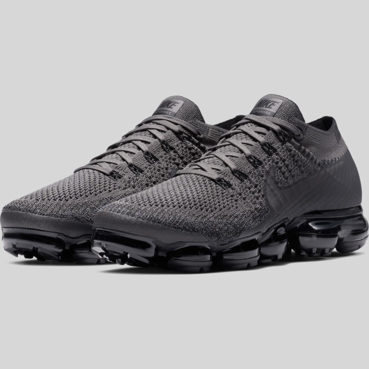 03df2a55a11f Nike AIR VAPORMAX FLYKNIT Midnight Fog Multi-Color-Black (849558-009 ...