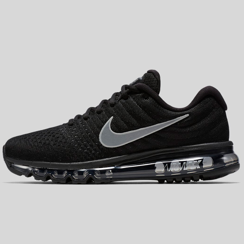 new arrival b1b3a 54213 Nike Air Max 2017 Black White Anthracite (849559-001)
