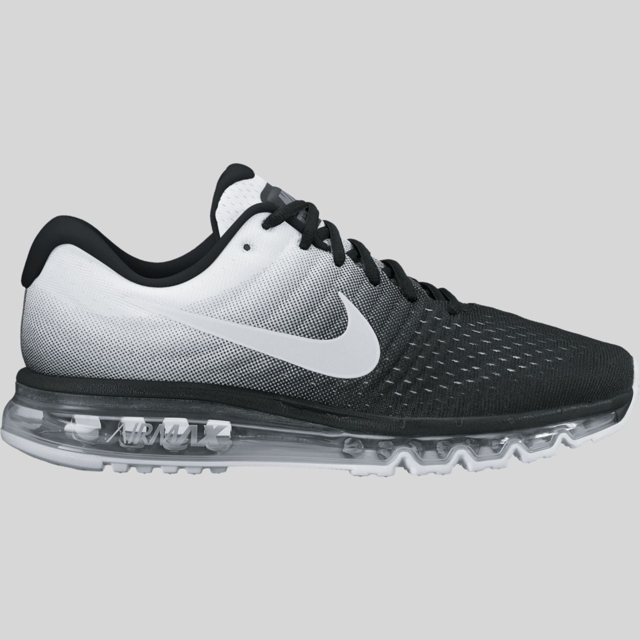 nike air max 2017 black white