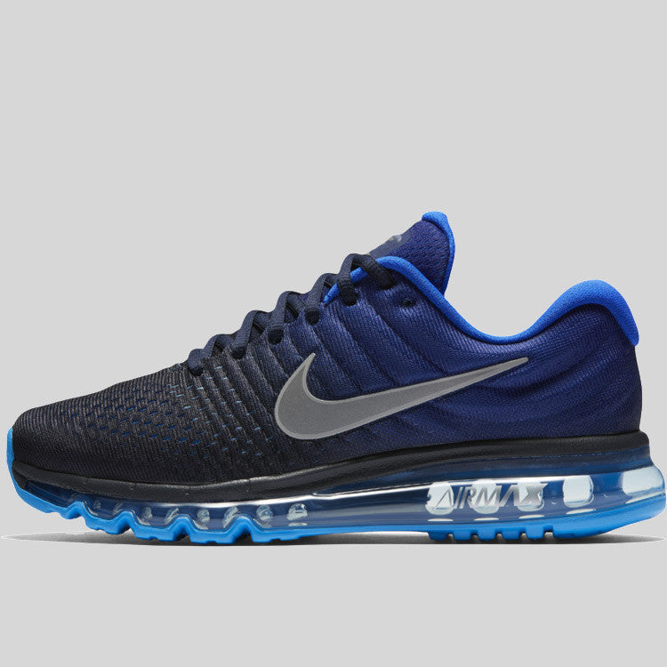 reputable site 89ba3 12902 Nike Air Max 2017 Paramount Blue Black Max Orange (849559-402) | KIX ...