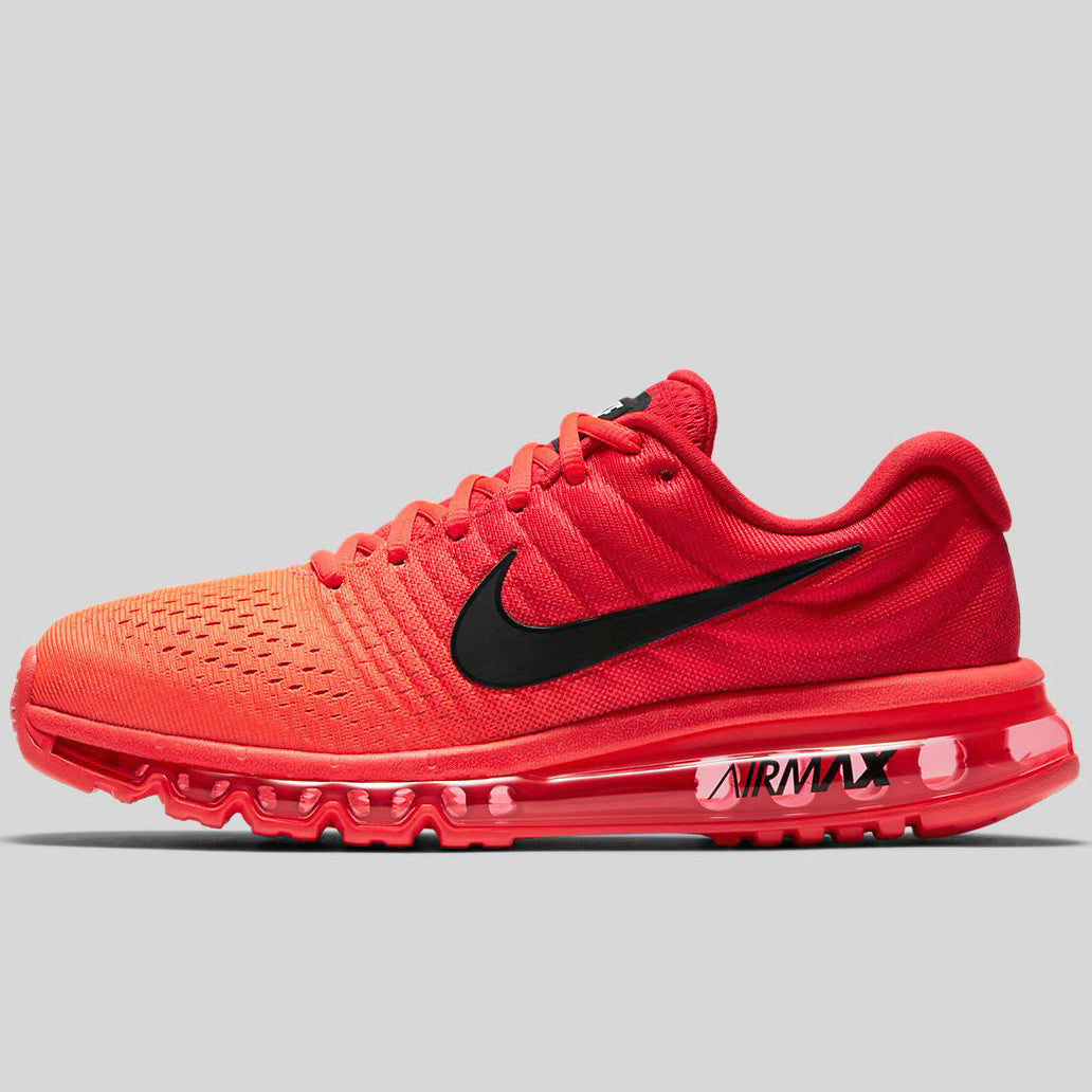 san francisco 2365e ec475 Nike Air Max 2017 Bright Crimson Black University Red (849559-602)