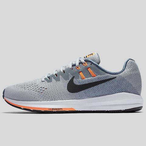 online store 34a04 ffdb7 Nike Air Zoom Structure 20 Wolf Grey Black Squadron Blue (849576-006)