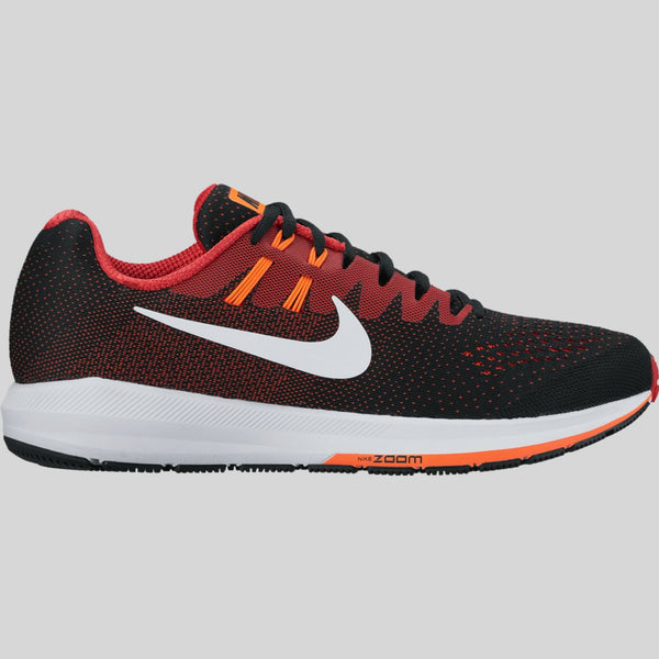 big sale d292b 0a2f8 ... sweden nike air zoom structure 20 black white university red hyper  orange 849576 008 kix files