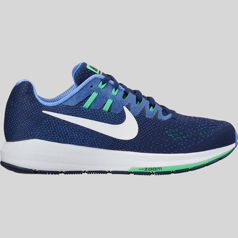 f2144604a3b835 Nike Wmns Air Zoom Structure 20 Binary Blue White Polar Electro Green  (849577-401