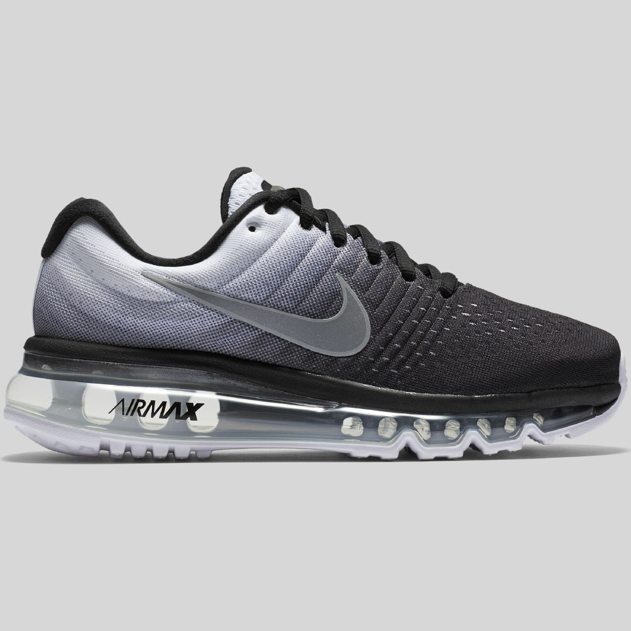 another chance dab2e ba0d4 Nike Air Max 2017 (GS) Black White Gradient