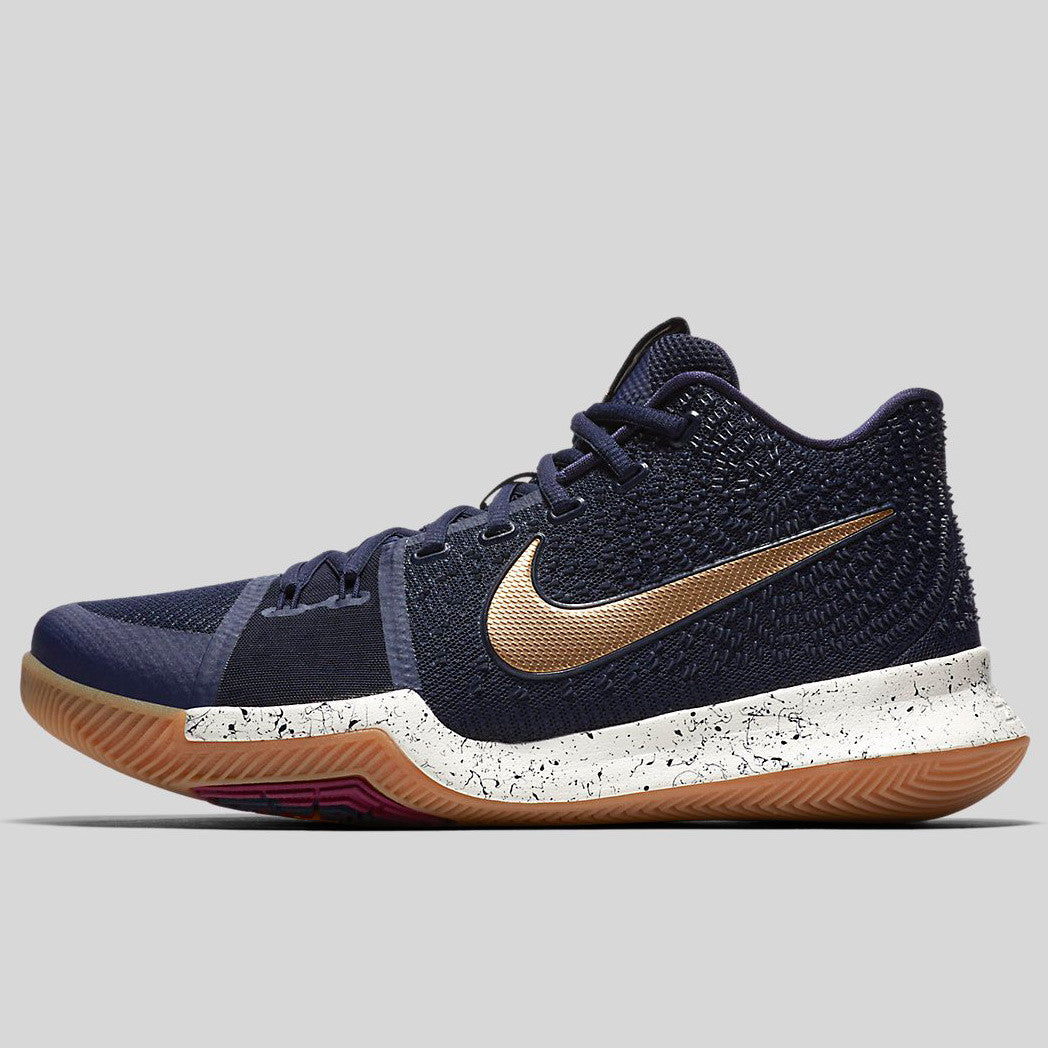 timeless design 27ced 5b5f4 Nike Kyrie 3 EP Obsidian Metallic Gold (852396-400)