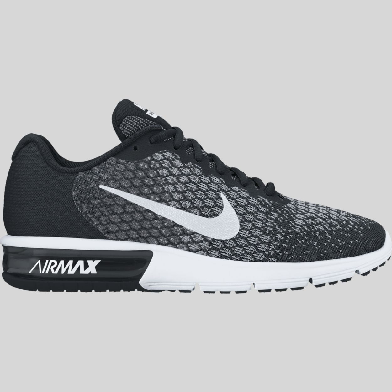 buy buy good newest collection Nike Air Max Sequent 2 Black White Dark Grey Wolf Grey