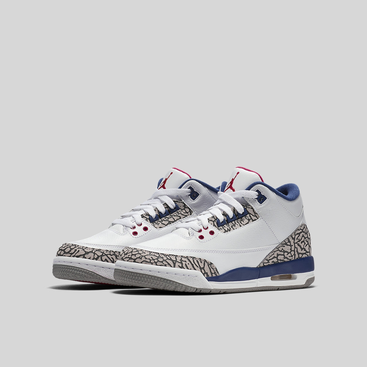 timeless design fd8eb ff01d Nike Air Jordan 3 Retro OG BG (GS) True Blue