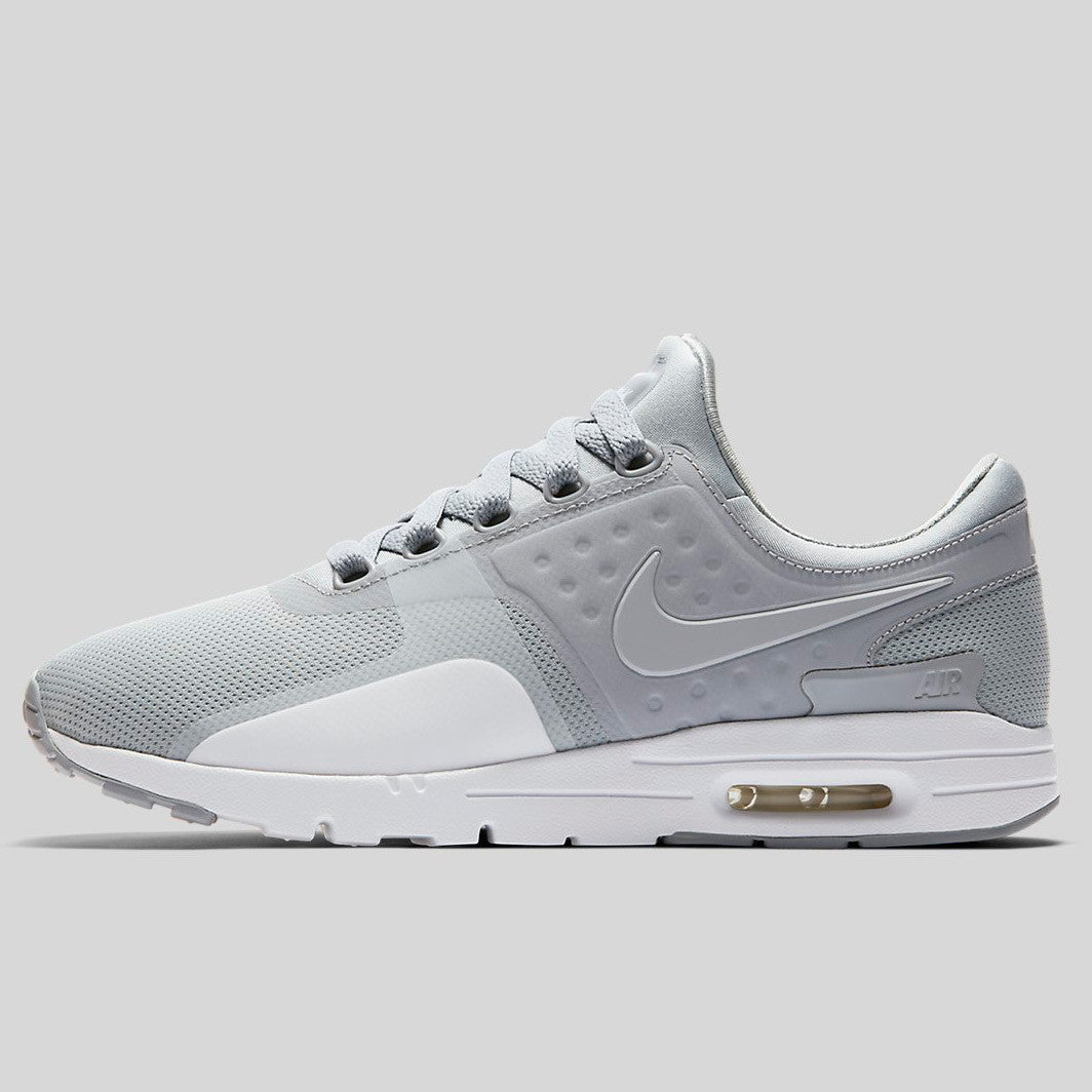 NIKE AIR MAX ZERO WHITE/WOLF GREY 857661-009