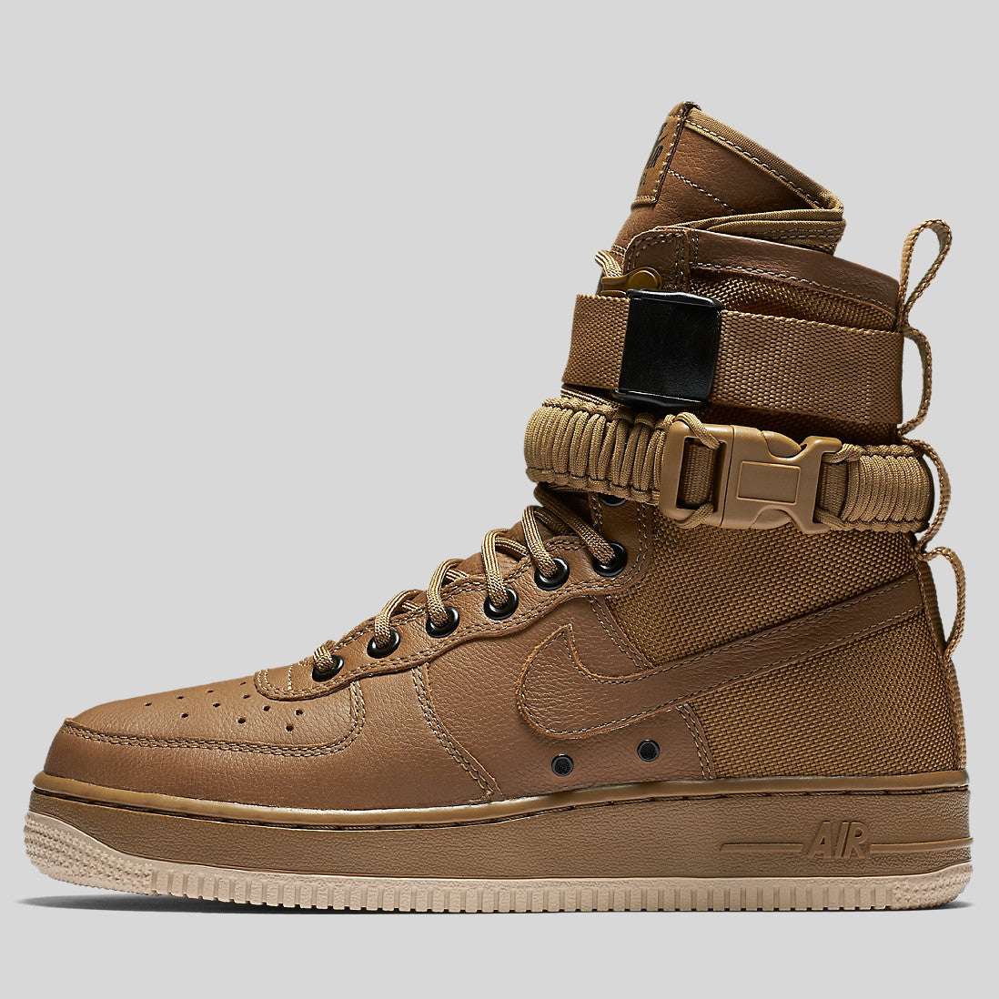 new products b76b7 7d367 Nike Wmns SF AF1 Special Field Air Force 1 Golden Beige