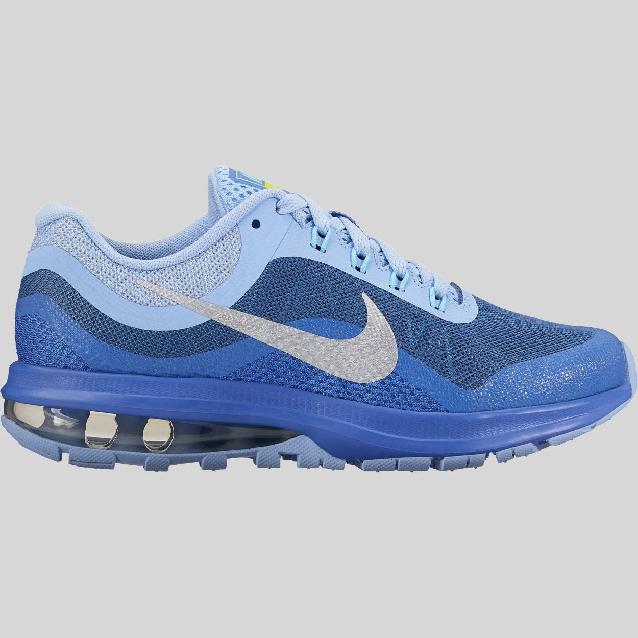 Nike Air Max Dynasty 2 (GS) Aluminum Metallic Silver Medium Blue