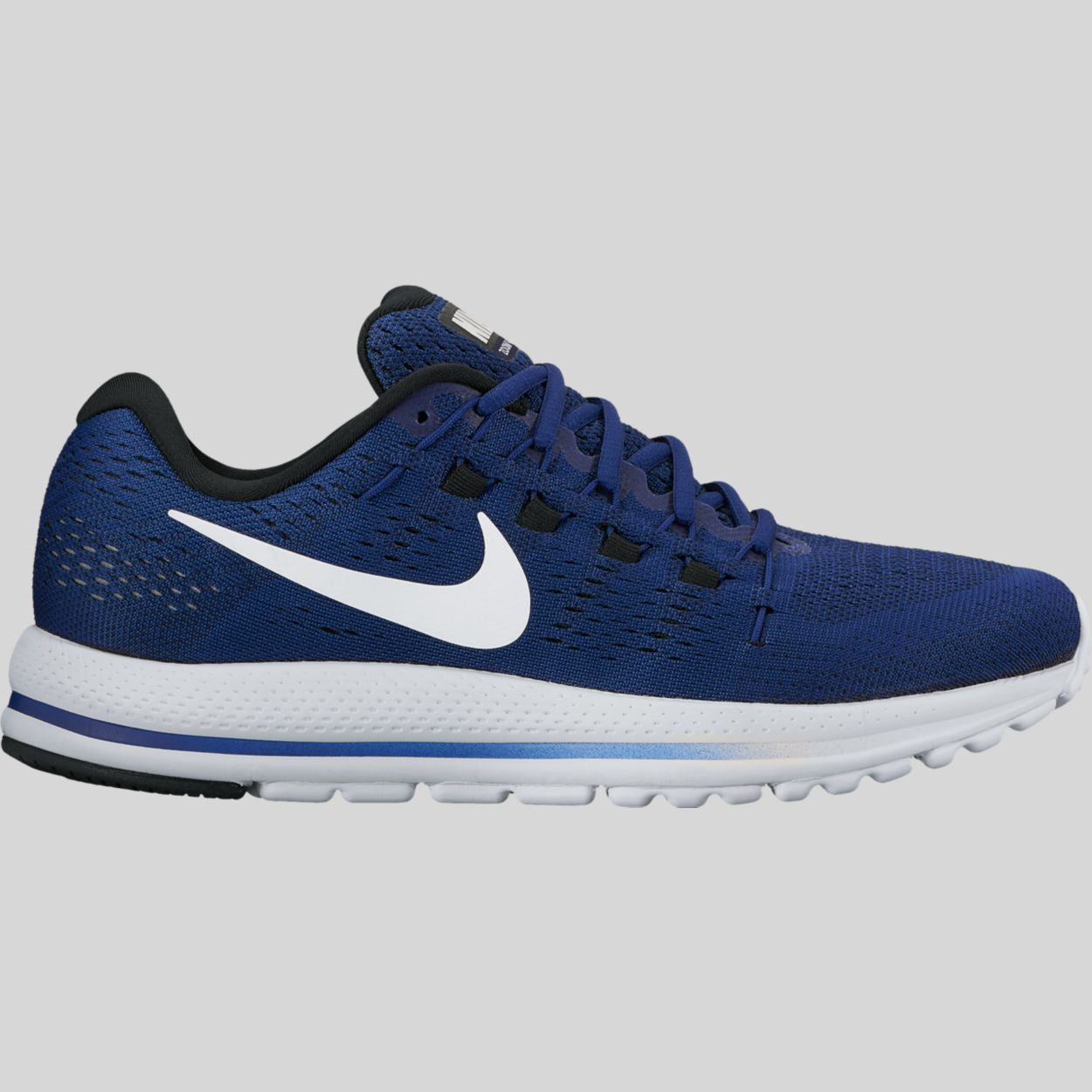 the best attitude cec45 5b3cd Nike Air Zoom Vomero 12 Deep Royal Blue Summit White Black (863762-401)