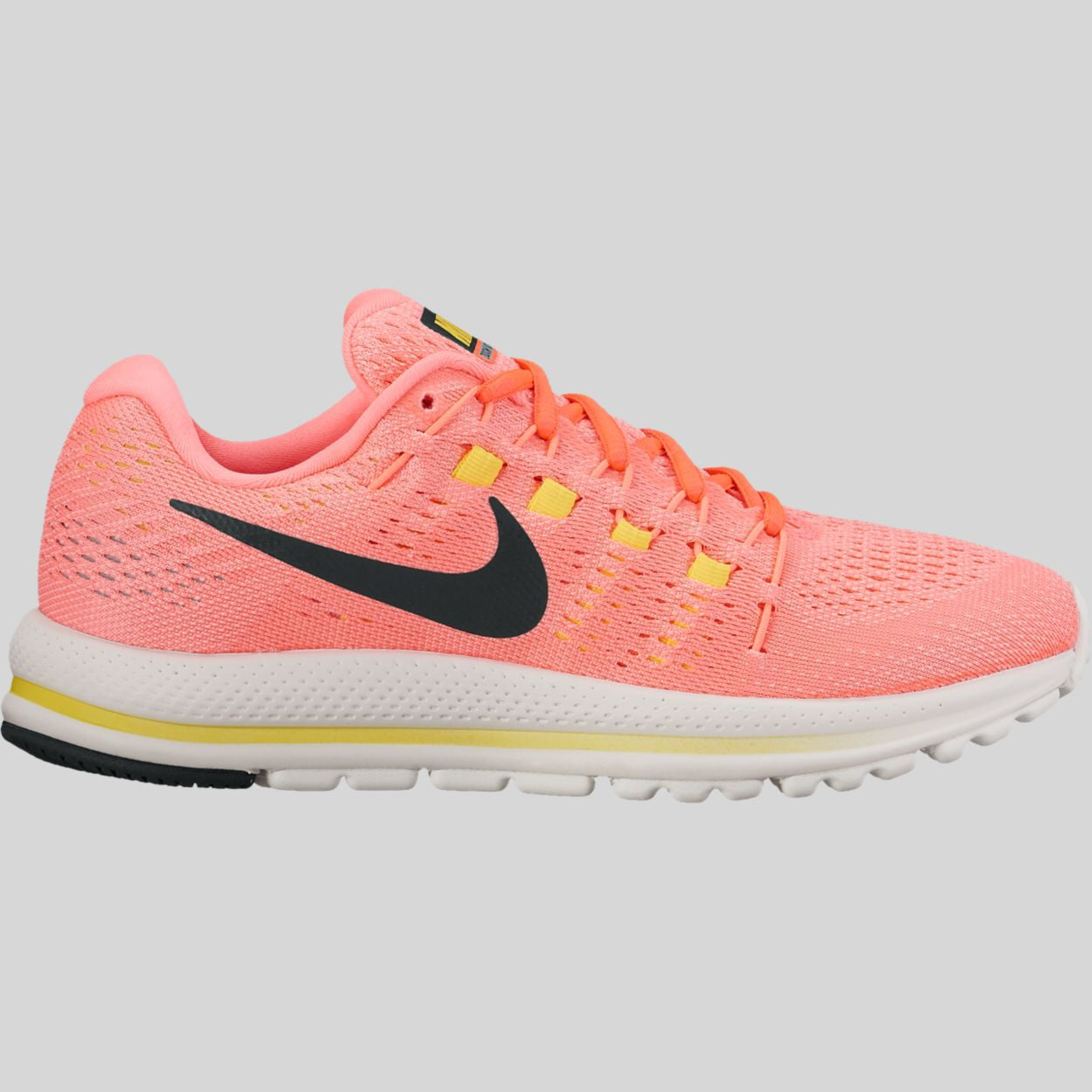 54c2fa6d28a0 Nike Wmns Air Zoom Vomero 12 Hot Punch Black Lava Glow (863766-600 ...