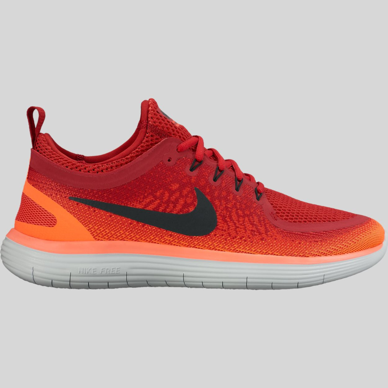 578ef3c92bd18 Nike Free RN Distance 2 Gym Red Black Max Orange (863775-600)