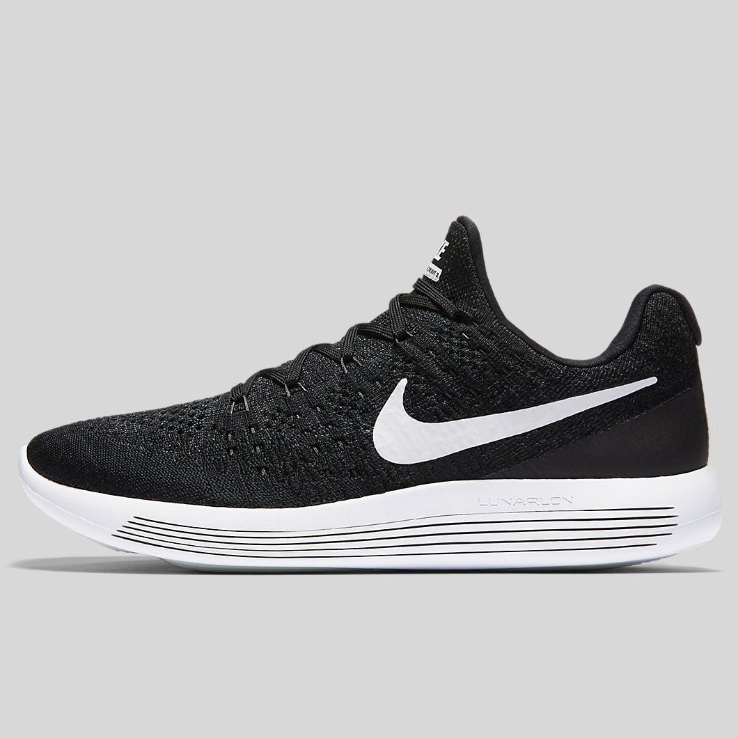 Nike LunarEpic Low Flyknit 2 Black Anthracite White 863779 001