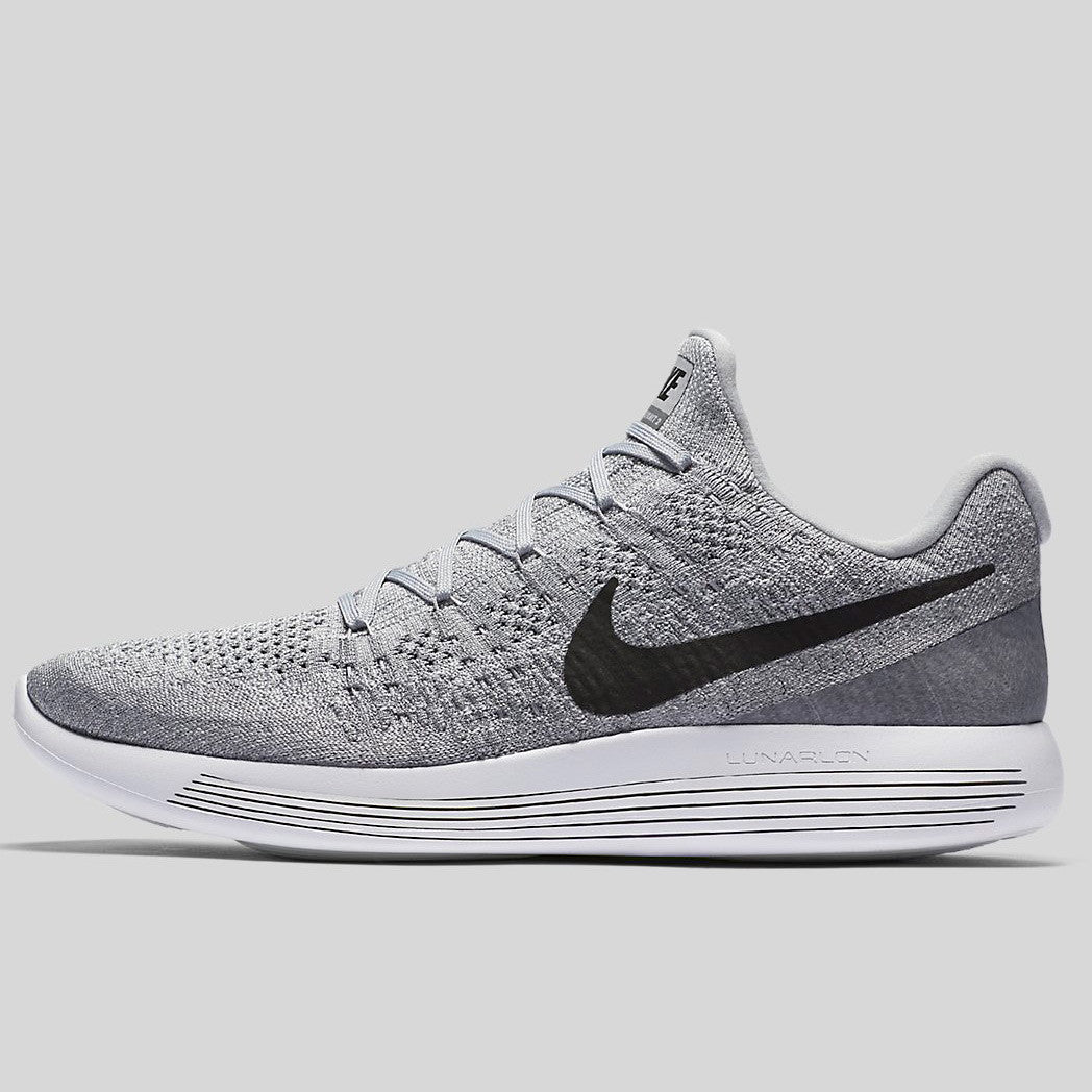 7b5cd8a886e5 Nike Lunarepic Low Flyknit 2 Wolf Grey Black Cool Grey Pure Platinum  (863779-002