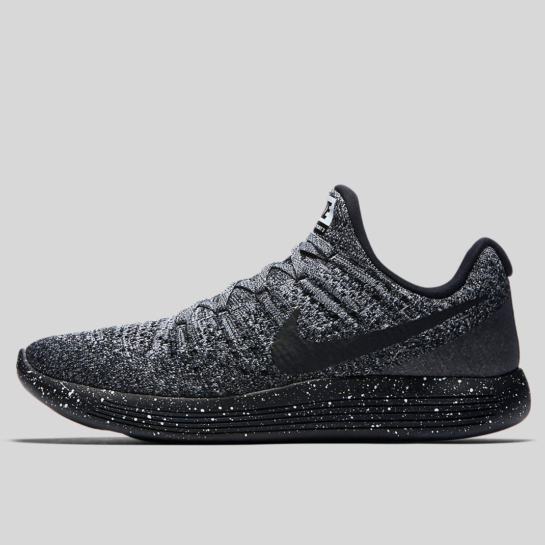 the latest a9e04 ed70e Nike LUNAREPIC LOW FLYKNIT 2 Black Black-White-Racer Blue (863779-041