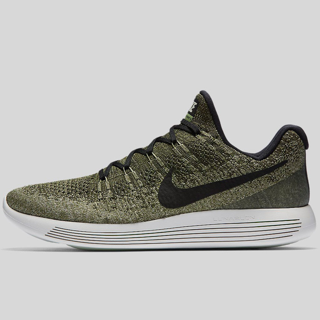 96f27beabe93 Nike Lunarepic Low Flyknit 2 Rough Green Black Palm Green Pale Grey  (863779-300