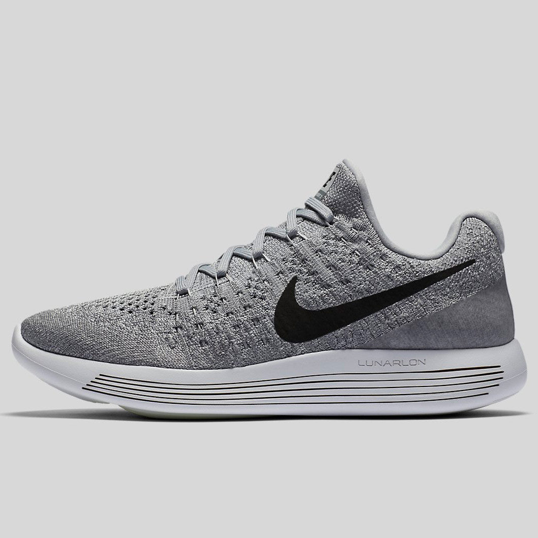 a94f60902894 Nike Wmns Lunarepic Low Flyknit 2 Wolf Grey Black Cool Grey Pure Platinum  (863780-