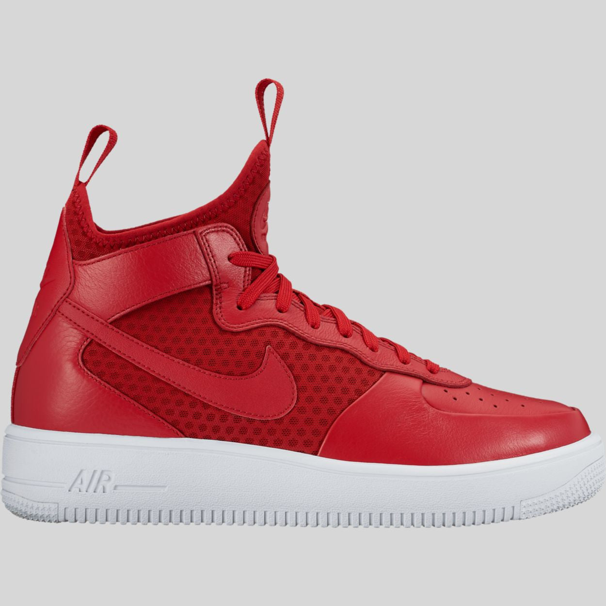 Nike Air Force 1 UltraForce Mid 864014600 Gym Red White Gym Red Gym Red