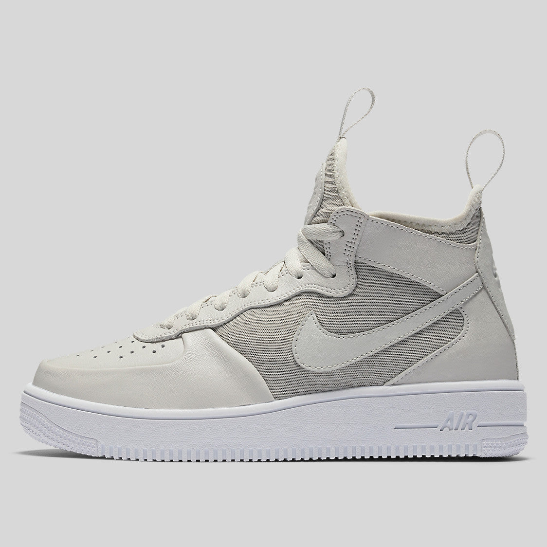 finest selection d046a 30ce1 Nike Wmns Air Force 1 Ultraforce Mid Light Bone White (864025-002)
